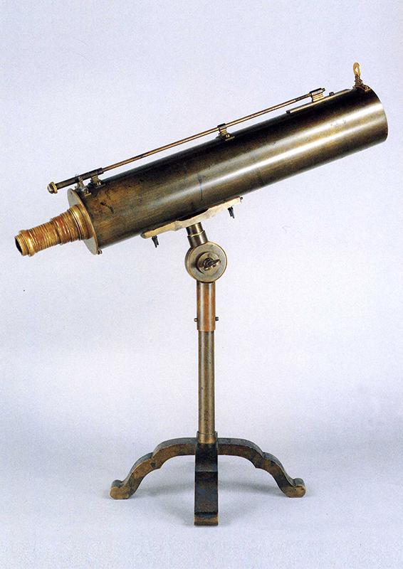 反射望遠鏡(国友一貫斎家蔵)
